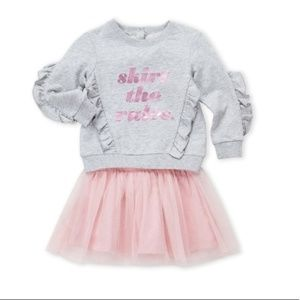 Kate Spade Skirt The Rules Ruffle and Tulle Set 3